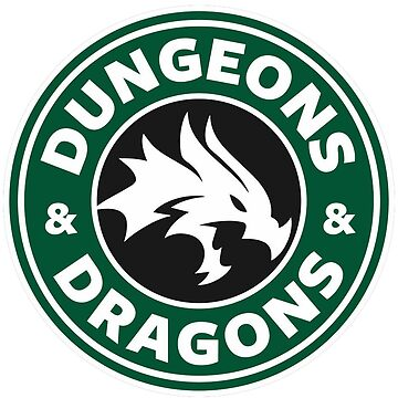 Dungeons And Dragons Starbucks by PaulyH