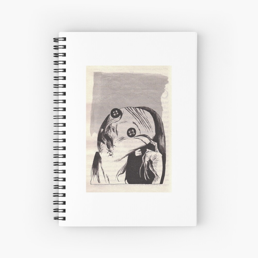 Coraline Other Mother Spiral Notebook By Justkainan Redbubble