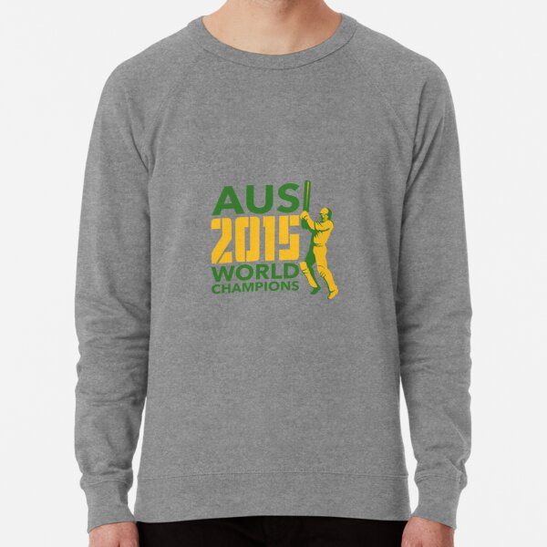Australia AUS Cricket 2015 World Champions Lightweight Sweatshirt