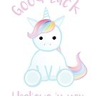 Good Luck - I believe in you Unicorn!  by JustTheBeginning-x (Tori)