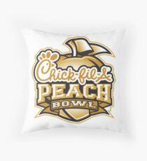 chick fil a peach bowl Throw Pillow
