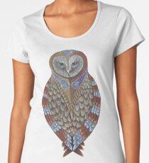 Owl Totem Women's Premium T-Shirt