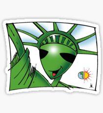 legal freedom Sticker