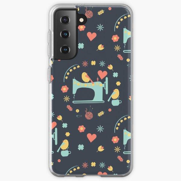 Love sewing Samsung Galaxy Soft Case