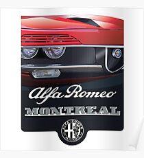 Póster Alfa Romeo Montreal