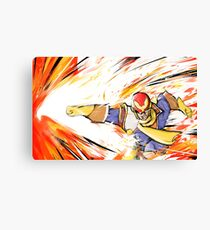 Captain Falcon | Falcon Punch Canvas Print