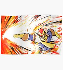 Captain Falcon | Falcon Punch Poster