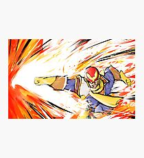 Captain Falcon | Falcon Punch Photographic Print