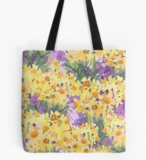 Yellow Daffodil Garden Tote Bag