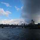 London views from Waterloo Bridge. by My Simple Adventures