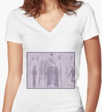 In the plantation Women's Fitted V-Neck T-Shirt