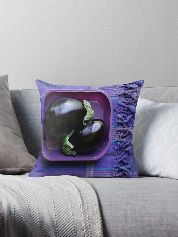 Aubergine Decorative Pillows