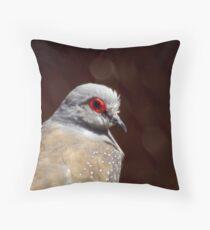 Diamond Dove  Throw Pillow