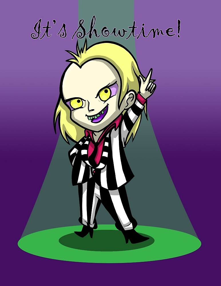 It's Show Time Beetlejuice by ArtfromtheAshes