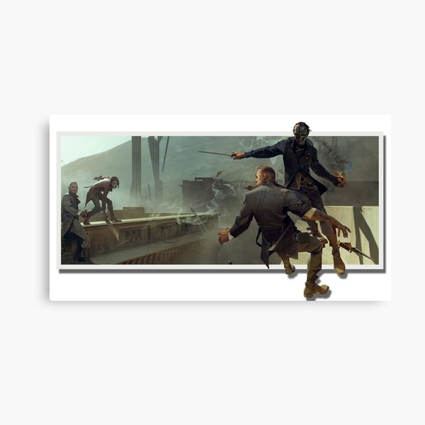 Corvo At The Edge Of The World Pop Out Canvas Print