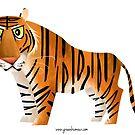 Bengal Tiger by rohanchak