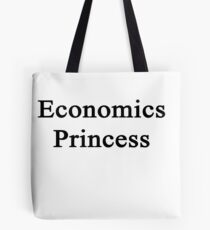 Economics Princess  Tote Bag