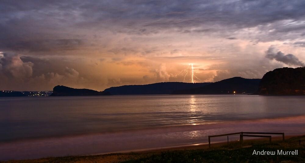 Umina Beach Storm by Andrew Murrell