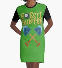 Animal Crossing - Fossil Hunter Graphic T-Shirt Dress