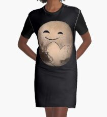 ORIGINAL - Love, Pluto - Pluto Fly By - New Horizons - Dean Cole Design Graphic T-Shirt Dress