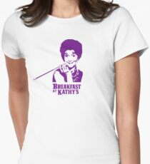 Breakfast At Kathy's Women's Fitted T-Shirt