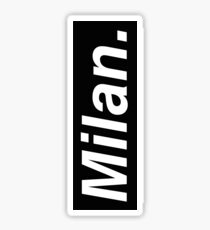 Milan Oblique Sticker