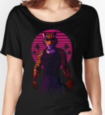 Midnight Animal - Tiger Women's Relaxed Fit T-Shirt