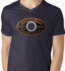 Slingerland Drum Badge Men's V-Neck T-Shirt