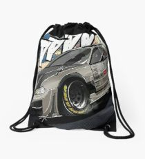Honda Integra JDM Graphiti ART Drawstring Bag