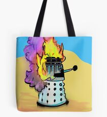 Death to the Daleks Tote Bag