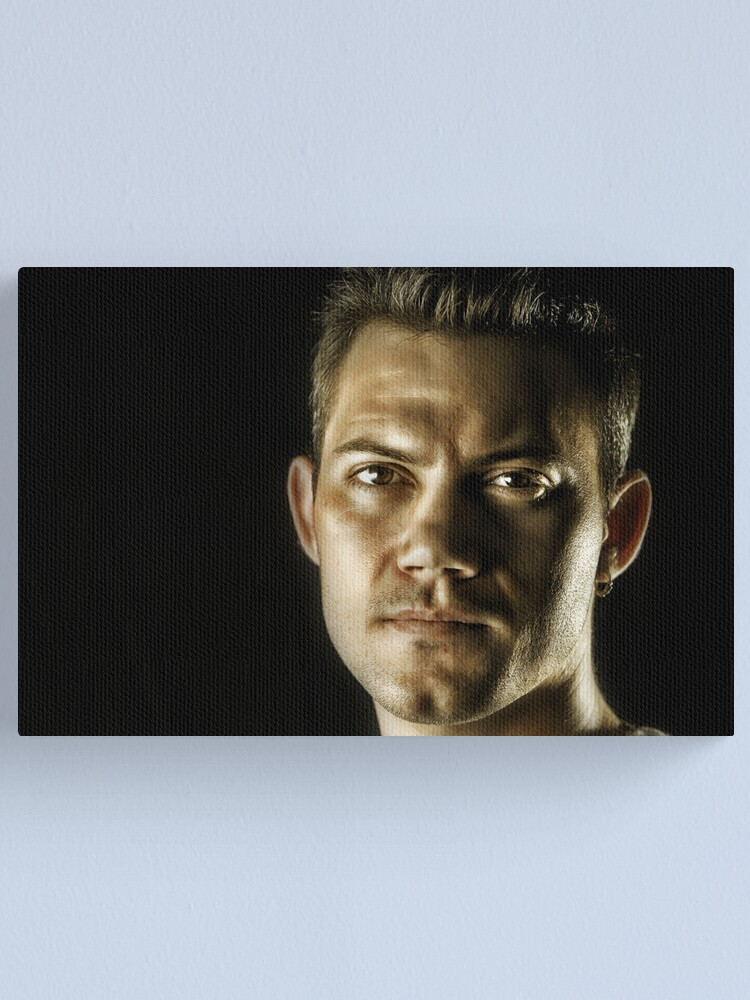 Alternate view of Blue Steel ;-) Canvas Print