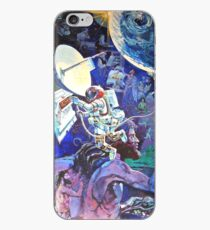 Spaceship Earth Mural iPhone Case