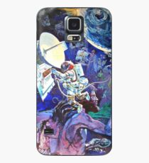Spaceship Earth Mural Case/Skin for Samsung Galaxy