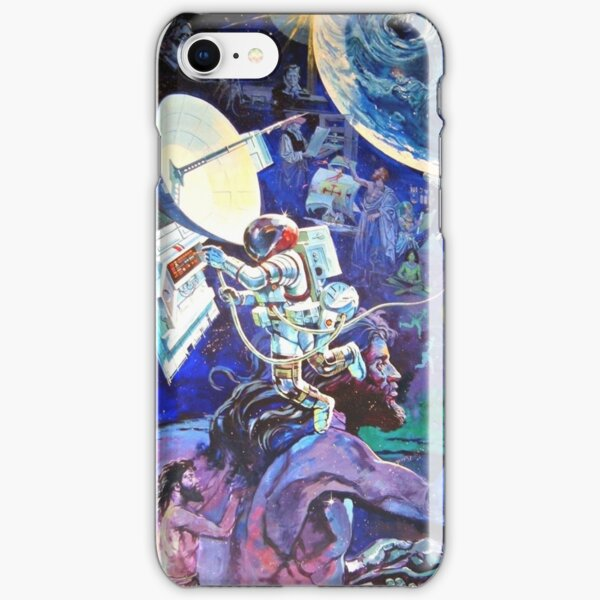 Spaceship Earth Mural iPhone Snap Case