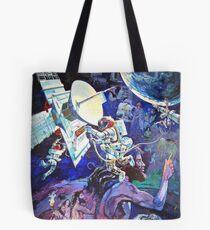 Spaceship Earth Mural Tote Bag