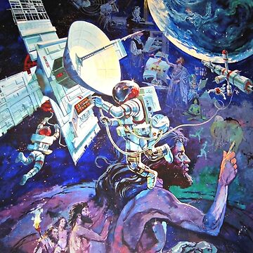 Spaceship Earth Mural by APOFphotography