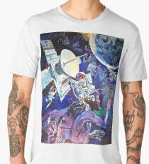 Spaceship Earth Mural Men's Premium T-Shirt