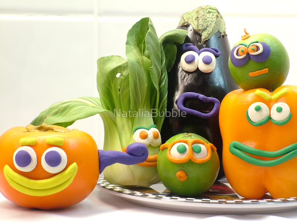 vegetable cacophony by NataliaBubble