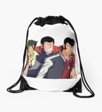 Lupin Family Reunion Drawstring Bag