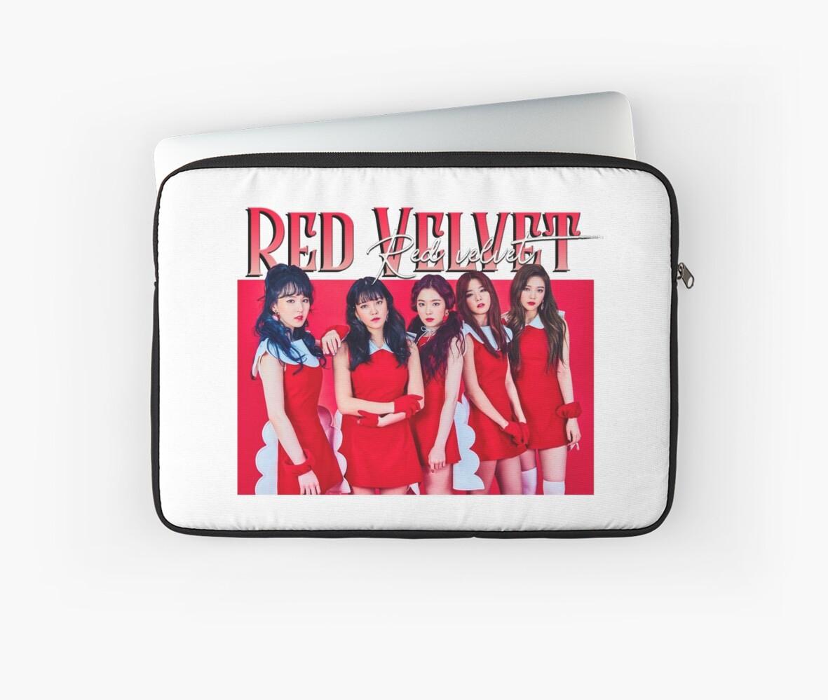 Red Velvet Band Tee by BENWYATTS