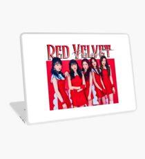 Red Velvet Band Tee Laptop Skin