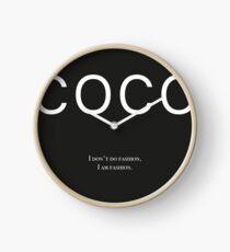Reloj Coco Chanel cotización - I don & # 39; t hacer moda. I Am moda.