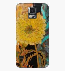 Big Yella Sunflower and Bird Case/Skin for Samsung Galaxy