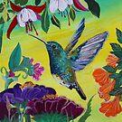 Follow Me Hummingbird by RobinPedrero