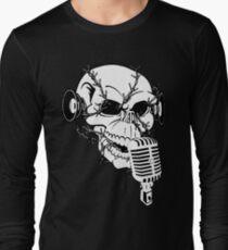 Singing Skull  Long Sleeve T-Shirt