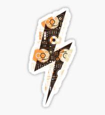 Dj's Lightning Sticker