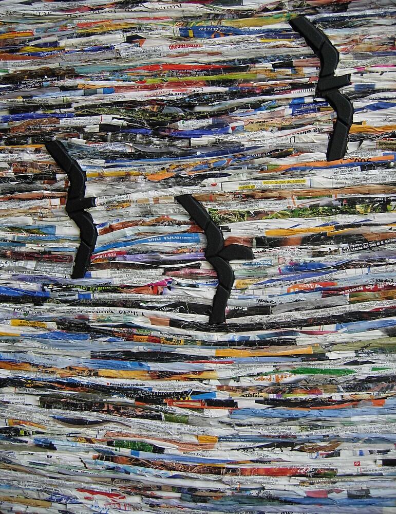 2008_007 gabbiani delle isole del tempo perduto (gulls on the islands of lost time) by Enzo Correnti