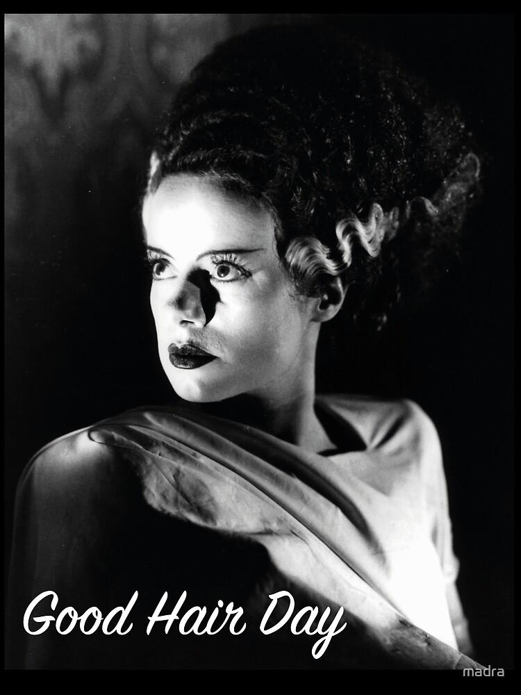 Bride of Frankenstein – Good Hair Day by madra