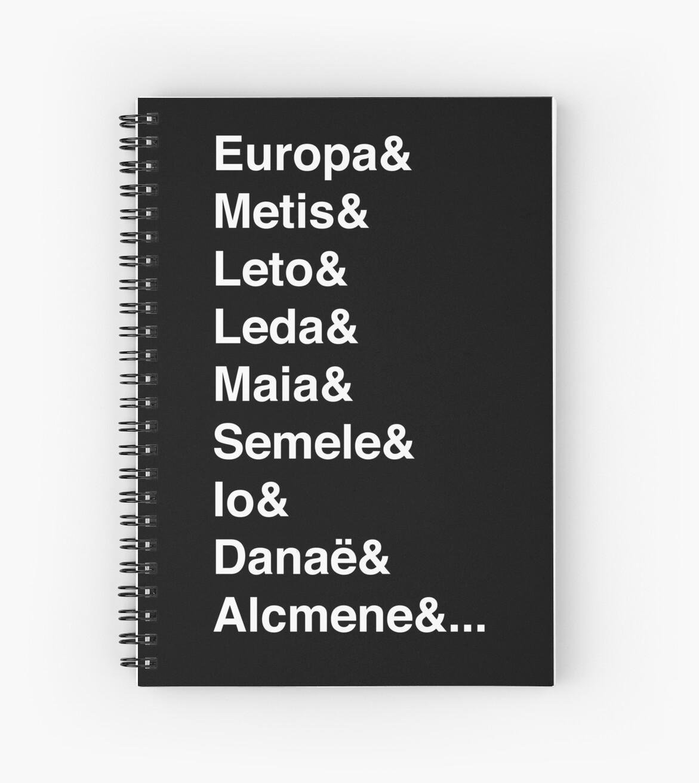 Helvetica Greek Survivors (White) by mythsbaby