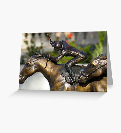 Immobile Action Greeting Card